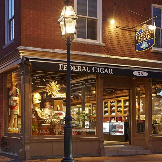 Federal Cigar 36 Market St Portsmouth NH