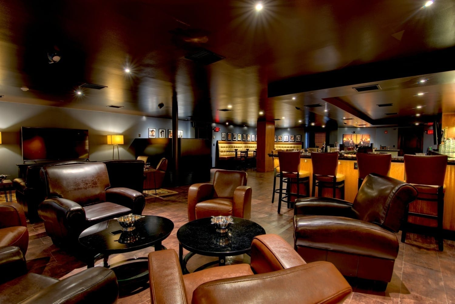 Slow Burn Lounge's amazing cigar bar